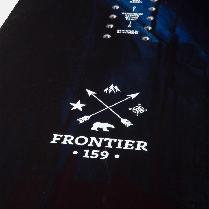 Jones Men's Frontier Snowboard close up detail