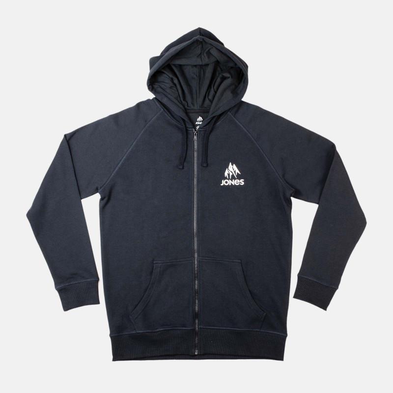 Truckee hoodie zip - black