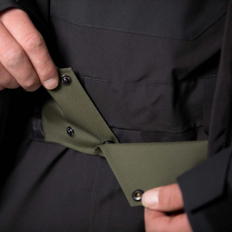Huck proof powder skirt