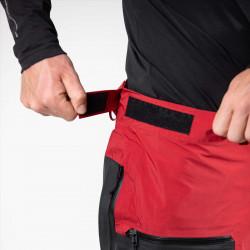 Adjustable waistband with belt loop