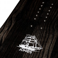 Jones Men's Ultra Flagship Snowboard, close up detail