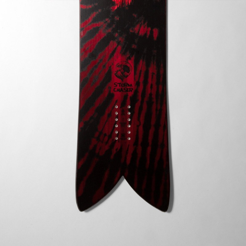 Jones Storm Chaser Snowboard, close up detail